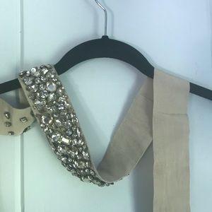 J. Crew Rhinestone Wedding Dress Sash